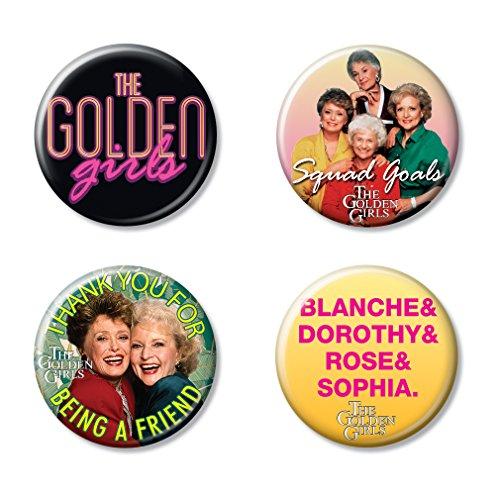 Ata-Boy The Golden Girls Assortment # 1 Set of 4 1.25