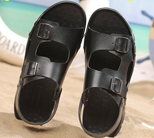 Neue 2018 Strand Schwarz Sandalen Männer Schuhe Atmungsaktiv Xiaoqi Sommer LIANGXIE Hof Sandalen Outdoor große Komfort tT5w1Uq