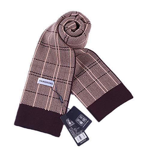 stampato cm maglia autunno Sciarpa Amdxd cashmere per caffè in 175 a inverno wqntpAPx4X