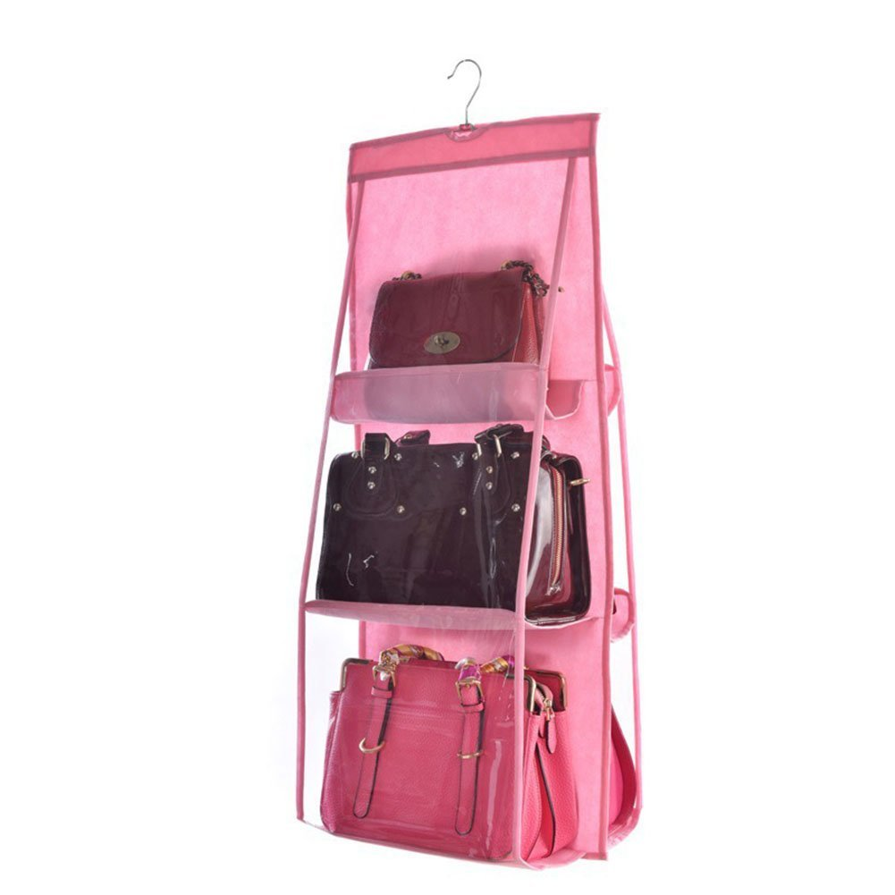 EDTara Collection bag,Storage Hanging Bag Organizer Container Household Decoration,Multifunctional Double-sided Bag