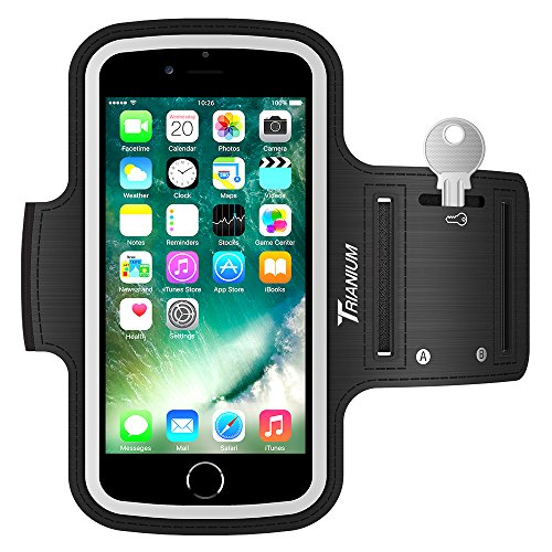 Trianium Armband for Smaller Phone Sport Running Pouch Case Fit Phone Diagonal Size up to 5.85