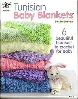 Tunisian Baby Blankets Kim Guzman 9781596351233 Amazoncom Books