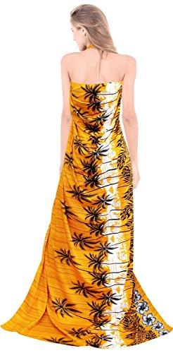 para mujer del traje de baño ropa de playa pareo traje de baño del bikini encubrir baño de las señoras pareo dorado