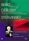 Musik Trienniale Koln 2000 - Berg Lulu Suite / Debussy Le Jet D'Eau / Stravinsky Firebird / Boulez, Chicago Symphony Orchestra