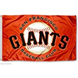 San Francisco Giants Orange Flag and Banner