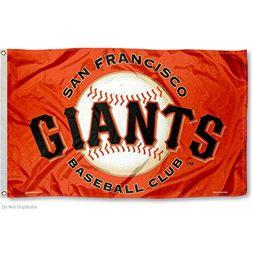 San Francisco Giants Orange Flag and (San Francisco Giants Metal)