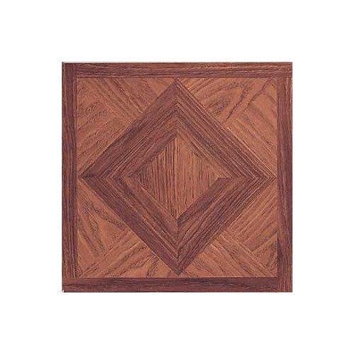 Floor Tile 9 Boxes Covers (Madison Vinyl Self Stick Floor Tile 2553 Home Dynamix Flooring - 1 Box Covers 9 Sq. Ft.)
