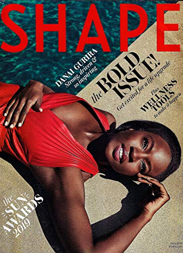 (SHAPE Magazine May 2019 THE BOLD ISSUE - DANAI GURIRA Cover, THE SUN AWARDS 2019, Wellness Tools)