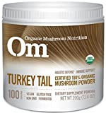 Om Organic Mushroom Nutrition Supplement, Turkey Tail: Holistic Defense, Immune Support, 100 Servings, 7.14 Ounce, 200 grams