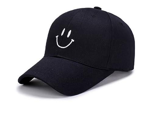 2363a36a96d84 [セイヤインターナショナル] 帽子カジュアル スマイル ロゴ レディース メンズ キャップ 日除け UVカット 紫外線対策