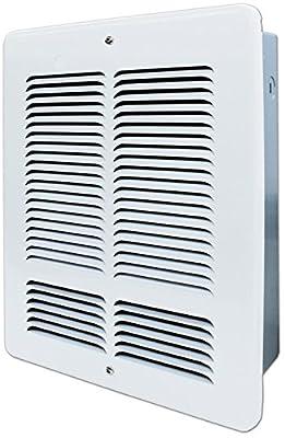 King W2415 1500-Watt 240-Volt Wall Heater, White