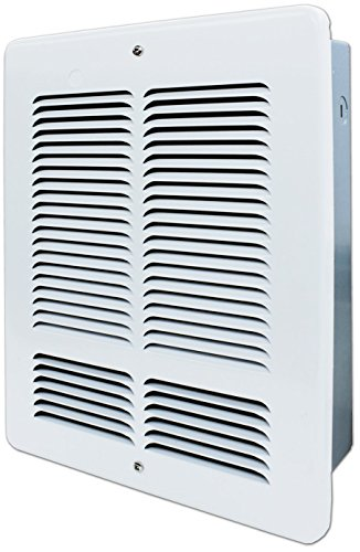 King W1215 1500-Watt 120-Volt Wall Heater, White