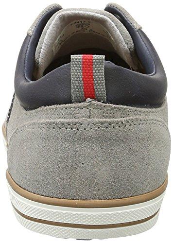 Bugatti Men's F48133 Low-Top Sneakers, Grey (Grey 160) Grey (Grau 160)