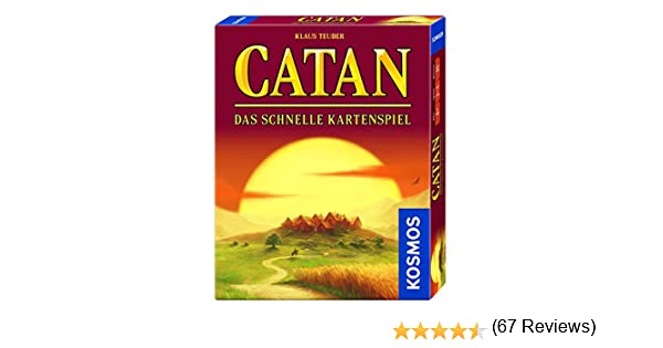 Kosmos 740221 – Catan – El rápido juego de cartas, juego de estrategia: Teuber, Klaus: Amazon.es: Juguetes y juegos