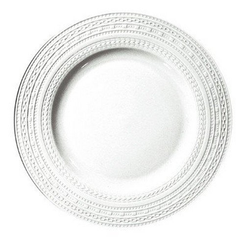 Countryside Platter Round (La Porcellana Bianca Casale Round Rim Platter, Set of 2, 12.25