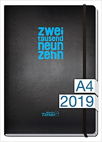 Chäff Wochen-Notizkalender Kalender 2019 A4 Maxi - Extra ...