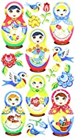 Sticko Babushka Babies Stickers