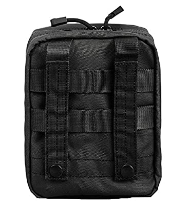 Military Pouches Molle Tactical Medical Pouch for First Aid EDC Utility Waterproof Compact Army Bag Multi-purpose 3 Colors