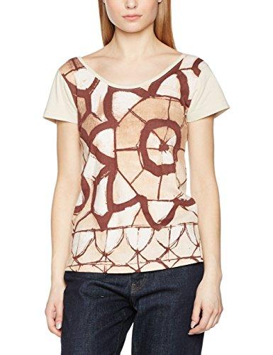 SideCar, Camiseta para Mujer Multicolor (Estampado)