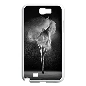For Samsung Galaxy Note 2 Case Ballet Dancing Art Pattern Protective Back Case-Style-11