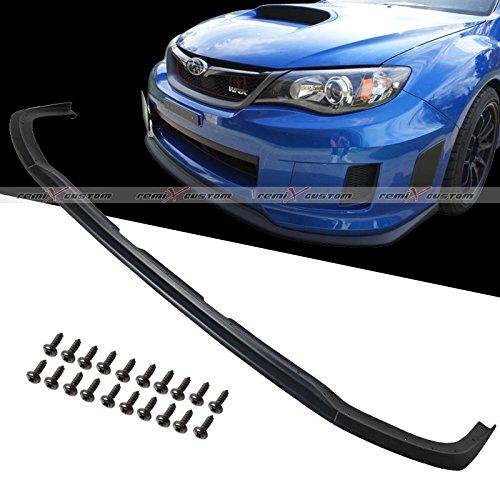 11-12 Subaru Impreza WRX STi CS Type Front Bumper PU lip Spoiler ( Poly Urethane )