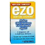 Ezo Denture Cushions, Upper Heavy - 12 Ea(Pack Of 2)
