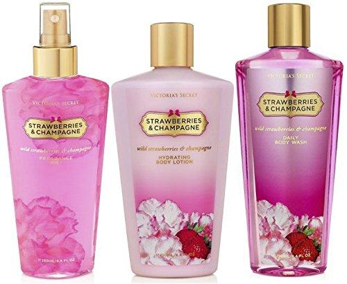 Victoria's Secret Strawberries & Champagne Gift Set - Mis...