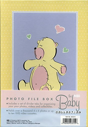 The Baby Collection - File Box - Photo / VHS Cassettes Storage Box