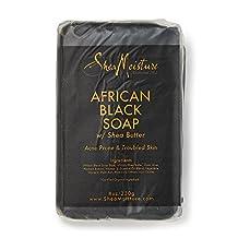 Shea Moisture African Black Bar Soap, 237g