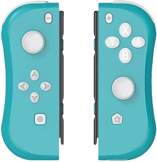 Sroomcla Mando para Nintendo Switch Inalámbrico Joy-con Controladores Inalámbricos LED Bluetooth Controladores Joystick con Vibración Y Sensor | Constan De 22 Botones Y 2 Joystick 3D De Alta Chic: Amazon.es: Hogar