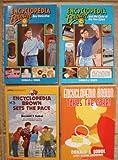 Encyclopedia Brown Set of 4 Books (Encyclopedia Brown Boy Detective ~ Encyclopedia Brown and the Case of the Two Spies ~ Encyclopedia Brown Takes the Cake! ~ Encyclopedia Brown Sets the Pace)