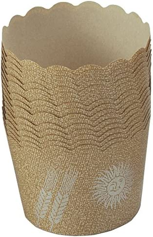 [スポンサー プロダクト]下村企販 日本製 マフィン型 ベーキングカップ 50枚 製菓用品 耐熱性 オーブン対応 クラフト紙 15726