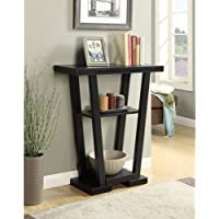 Convenience Concepts Newport V Console, Black