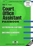 Court Office Assistant, Jack Rudman, 0837309654