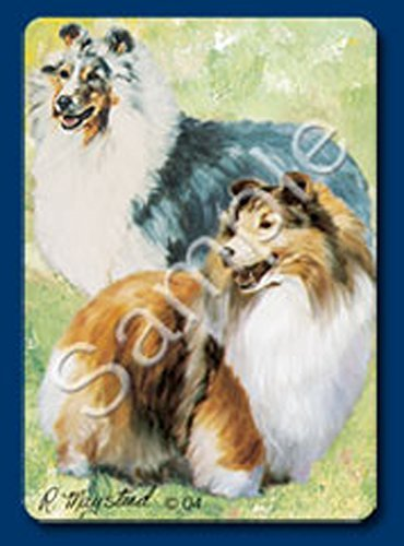 (Shetland Sheepdog (Sheltie) Dog Playing Cards Designed by Ruth Maystead (SHS-PC))