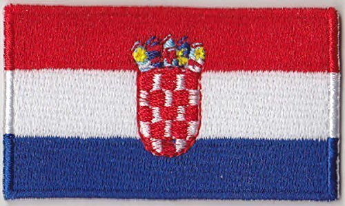 Croatia Country Flag Embroidered Patch T4 LetsCollect-it