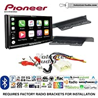 Pioneer AVH-W4400NEX Double Din Radio Install Kit with Wireless Apple CarPlay, Android Auto, Bluetooth Fits 2003-2009 Toyota 4Runner, 2000-2005 Toyota Celica, 2000-2005 Toyota MR2 Spyder