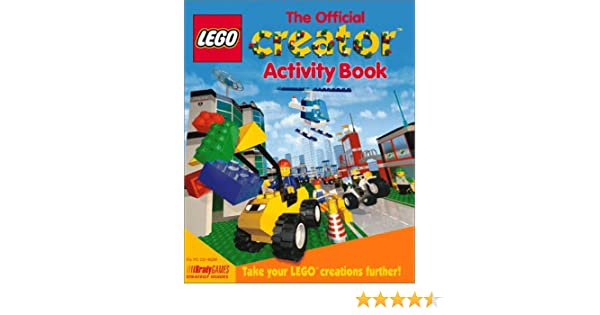Lego creator official activity book bradygames strategy guides lego creator official activity book bradygames strategy guides jeff james david gold bob nielson 9781566868358 amazon books malvernweather Images