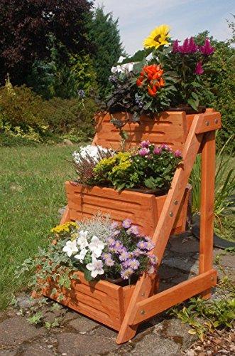 Pflanztreppe Blumenleiter Pflanzleiter Breite Aus Holz Deko Shop
