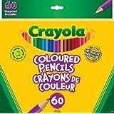 Crayola 60 Coloured Pencils