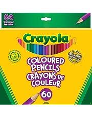 Crayola 60 Coloured Pencils Arts & Crafts
