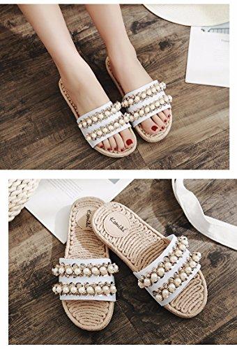son embargados femeninas Blanco zapatillas Outdoor zapatillas Verano U76Pxqwt7