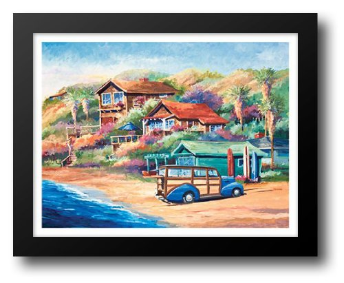 Surf Buggy (Surf Buggy 21x17 Framed Art Print by Drysdale, Bill)
