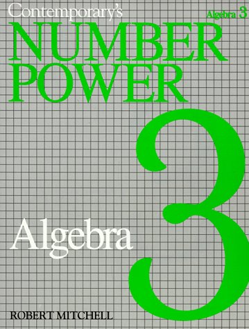 Contemporary's Number Power 3: Algebra the Real World of Adult Math
