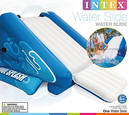 Inflatable Slide Pool Tesco: Intex Kool Splash Inflatable Swimming Pool Water Slide