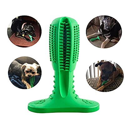 Busy Bone Dog Toy Dog Chew Toy Toothbrush Stick for Large Dogs and Small Dogs Indestructible Dog Toy for Teeth Cleaning Durable Dog Toy for Puppy Teething Chewing Breath