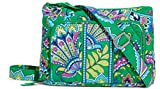 Gorgeous Vera Bradley Little Hipster Purse in Emerald Paisley