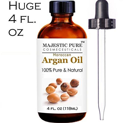 Аргана масло для волос и лица - 100% Pure & Natural Organic Аргана масло - Сертифицированный холодного отжима Тройной Extra Virgin Оценка 1 марокканской нефти, извлеченные из Finest органических аргании орехи - богаты витамином Е и натуральных жирных кисл