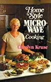 img - for Home Style Microwave Cooking book / textbook / text book
