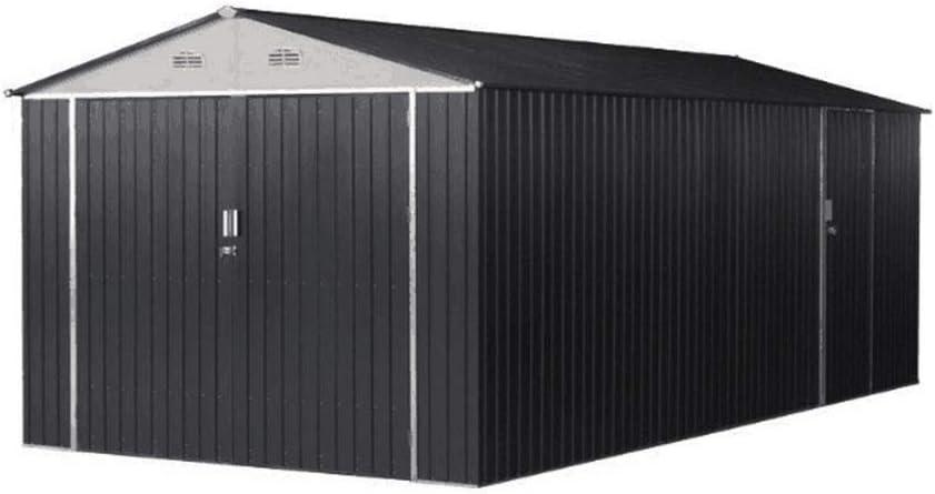 Weizhengheng - Garaje Estándar de Acero Respetuoso con el Medio Ambiente para Coches DE 20 x 10 x 20 cm: Amazon.es: Jardín